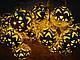 Гирлянда светодиодная золотые шарики 20 led, фото 2
