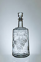 Бутылка винная,графин Ностальгия и Фуфырь (3,0 литра)