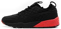 Мужские кроссовки Puma x Highsnobiety x Ronnie Fieg R698 Black (Пума) черные