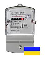Счётчик однофазный электромеханический НИК 2102-02.М2В 220В 5(60)А