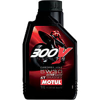 Масло моторное Motul 300V Factory Line 4T ROAD RACING 5W30 1л