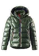 Куртка - жилет пуховая для мальчика Reima 531225 - 8910. Размер 122-164.