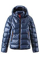 Демисезонная куртка - жилет пуховая для мальчика Reima 531225 - 6760. Размер 104-146.