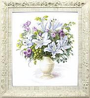 Набор для вышивания крестиком Crystal Art Букет с белыми лилиями ВТ-141