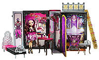 Ever After High Lizzie Hearts Thronecoming Briar Beauty and Furniture Set Бал коронации с мебелью