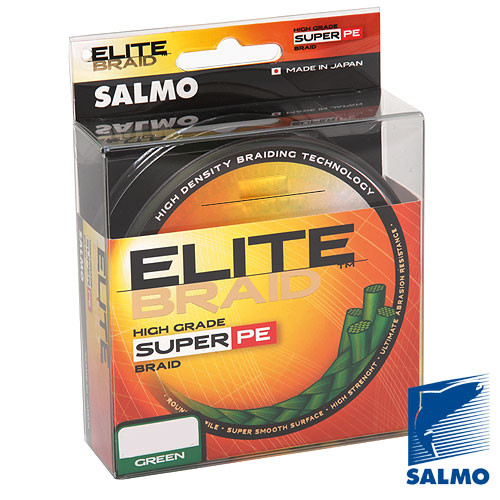 Жилка плетена Salmo ELITE BRAID Green  125/009  (інд.уп/ *5)