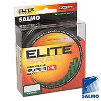 Жилка плетена Salmo ELITE BRAID Green  091/015  (інд.уп/ *5)