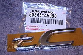 Scion tC 2005-10 емблема значок tC на багажник новий оригінал