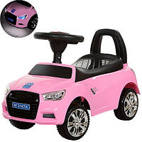 Каталка-толокар Audi музыкальная M 3147A-8 Bambi, розовый