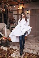 Рубашка женская нарядная , -ткань котон-цвета-голубой,черный,белый, фото реал ,супер качество ах №01406