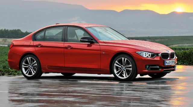 Диски и шины на BMW 3 series F 30