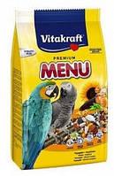 Vitakraft  Premium Menu Vital Loros корм для крупных попугаев 1кг (21047)