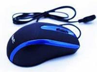 Мышь проводная HAVIT HV-MS753 USB, черная/синяя