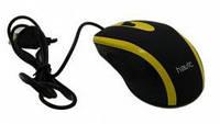Мышь HAVIT HV-MS753 USB, black/yellow