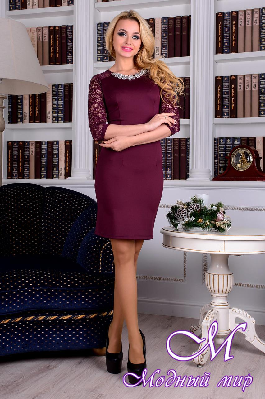Изысканное женское фиолетовое платье 88364 (р. S, M, L) арт. 8904