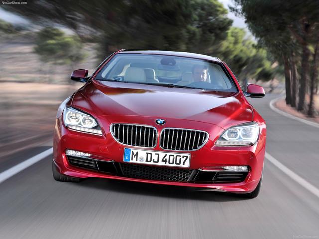 Диски и шины на BMW 6 series F 12