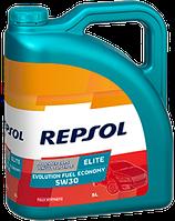 Моторное масло REPSOL ELITE EVOLUTION FUEL ECONOMY 5W30 1л