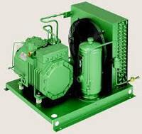 Холодильний агрегат на базі компресора Bitzer 4NCS-12.2y, б/в, з новим конденсатором,  2005 р.в.