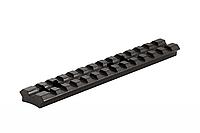 Планка на оружие Weaver длинна 140мм , крепление на оружие, шестигранник в комплекте