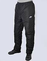 Брюки мужские Nike зима плащёвка больших размеров - (41-346)
