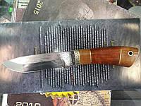 Нож охотничий Охотник сделано в Украине, ручная работа, кожаный чехол и заключение