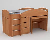 Многофункциональная детская мебель. Оригинальная кровать Универсал