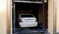 Автомобильный лифт для подземного гаража на 2 автомобиля