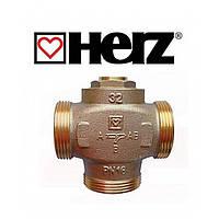 """Трехходовой термосмесительный клапан HERZ Teplomix DN25 1*1/4"""" 55°C с отключаемым байпасом"""
