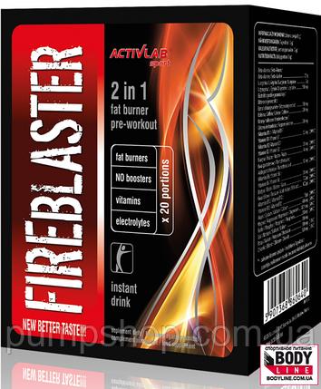 Предтренировочный комплекс Activlab Fireblaster 12 г - 1 пакетик, фото 2