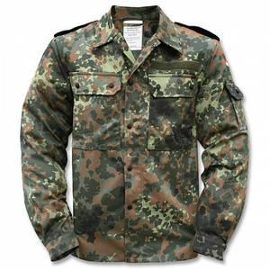 Китель (рубашка) Бундесвера флектарн полевой