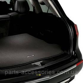 Acura MDX 2010-13 защитная аппликация наклейка на задний бампер Новая Оригинал