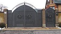 Кованые ворота №8