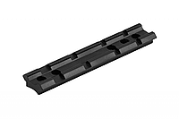 Планка Weaver длинна 100мм , крепление на оружие, шестигранник в комплекте
