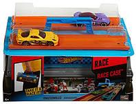 Hot Wheels Race Case - Чемоданчик, Переносний ігровой набір, 2 машинки (Портативный трек Hot Wheels «Гонки» )