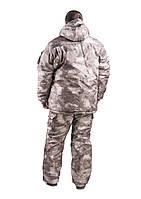 Зимний охотничий костюм Атакс, толстый слой синтипона, водонепроницаемая мембрана алова, -30с комфорт