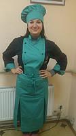Комплект поварской, куртка и китель для кухни,поварская одежда,униформа повара