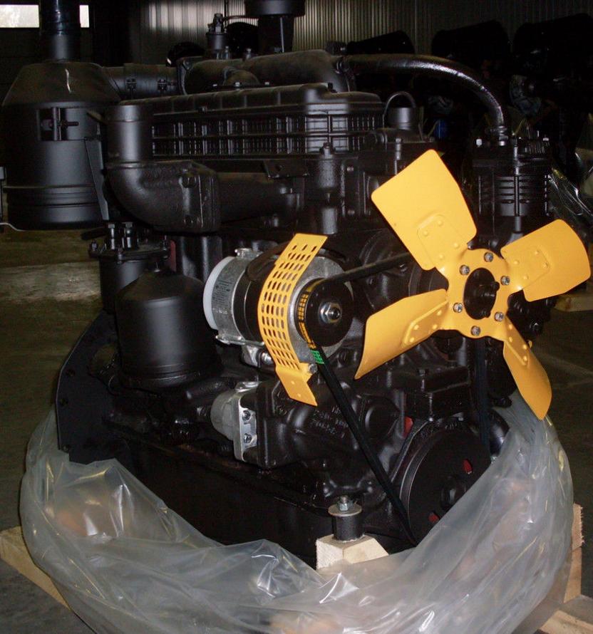 Двигатель МТЗ Д-243