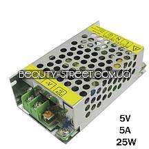 Блок питания для LED YDS05-30 5V 5A 25W (B)