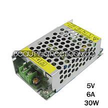 Блок живлення для LED YDS05-30 5V 6A 30W (B)