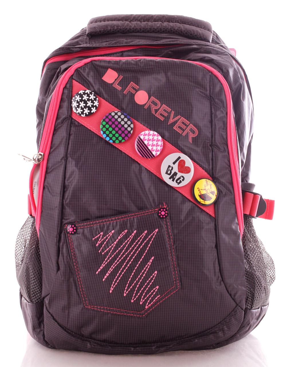 Купить Рюкзак подростковый Bag and backpack forever бордовый 15 л