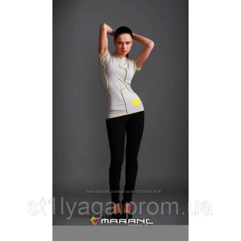 """44/S Дизайнерская футболка """" Чудик"""" в в светло-сером цвете"""