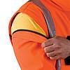 Куртка рабочая водонепроницаемая сигнальная с отстегивающимися рукавами (утепленная спецодежда) LH-ASCONA PB, фото 5