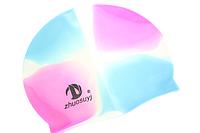 Шапочки для плавания (силиконовые) Поштучно Разноцветные №2