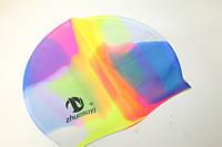 Шапочки для плавания (силиконовые) Поштучно Разноцветные №3
