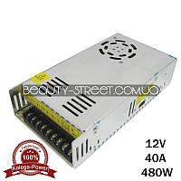 Блок питания для LED YDS12-480 12V 40A 480W (B)