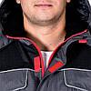 Куртка BOSTON зимова робоча з водонепроникним просоченням (робочий одяг утеплена флісом) LH-BSW-J SBC, фото 4