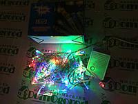 Светодиодная гирлянда цветная LED 100 W-2