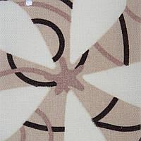 Рулонні штори Тканина Квити Коричневий (Квити 5236/1)
