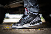 Кроссовки Nike Air Jordan black cement
