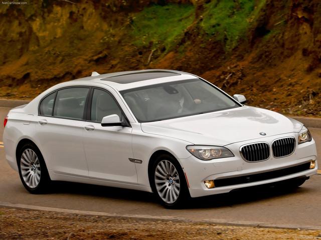 Диски и шины на BMW 7 series F 01